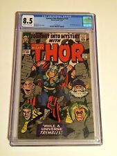 JOURNEY INTO MYSTERY #123 CGC 8.5 EARLY THOR, ABSORBING MAN, STAN LEE, KIRBY