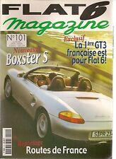 FLAT 6 101 PORSCHE 911 RSR 2.8 964 RSR 3.8 911 TURBO 3.3 BOXSTER TECHART 996 GT3