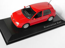 Volkswagen VW Golf 4 IV Generation GTi rot red rosso, Minichamps in 1:43 DEALER!