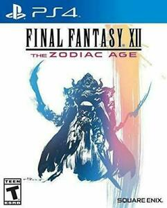 Final Fantasy XII: Zodiac Age for PlayStation 4 PLAYSTATION 4(PS4) Action /