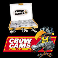 """CROW CAMS STAINLESS ROLLER ROCKERS 7/16"""" STUD FORD CLEVELAND 302 351 V8 CRFCL177"""