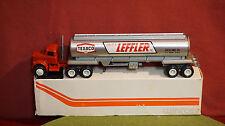 Winross Diecast Metal 1/64 truck Carlos Leffler Inc. /Texaco Tanker  1977