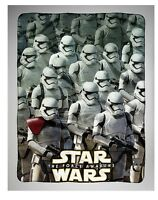 Star Wars Force Awakens STORMTROOPER Fleece Throw Blanket Imperial Force NWT