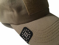 Three Percenter, BRIM-IT Tactical Patriotic HAT CLIPS Made in the USA
