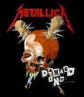 METALLICA cd lgo DAMAGE INC. Official SHIRT XL New master of puppets