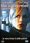 DVD film: THE INTERPRETER (2005) N. Kidman ex-noleggio