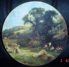Royal Doulton Collectors Plate A WELCOME BREAK From YEAR OF PLENTY