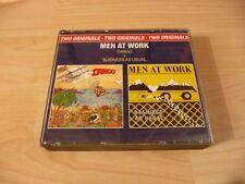 Doppio CD Men at Work: Cargo + business as usual - 80s di culto