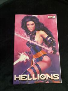 HELLIONS #1 MIKE MAYHEW EXCLUSIVE