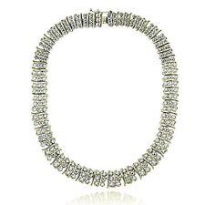 Tennis Gold Fine Diamond Necklaces & Pendants