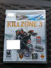 NEW Killzone 3 (Sony PlayStation 3, 2008) PS3 Factory Sealed +Socom 4 Beta Acces