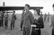 6x4 Photo ww10E2 Normandy Para GBCA 6th Air 19 May Princess Elizabeth Para