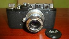 Russian Leica Copy D.R.P. ERNST LEITZ WETZLAR WW2 Vintage 35MM Camera SN302513