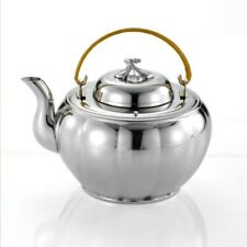 Royal Selangor Hand Finished Melon Collection Pewter Tea Pot (L) Gift