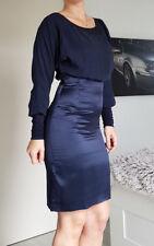 Hugo Boss * Kleid * Etuikleid *Gr.32 * blau * Boss Orange * Seide