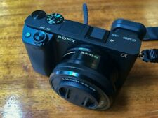 Sony Alpha a6400 Mirrorless 24.2MP 4K Camera with 16-50mm Lens - Excellent