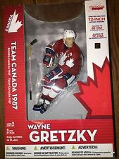 "McFarlane NHL Legends WAYNE GRETZKY Team Canada 12"" Red Jersey Variant Figure"