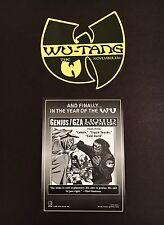 Wu-Tang Clan Rare 90'S Promo Pack (Gza, Rza, Odb, Method Man, Ghostface, Raekwon