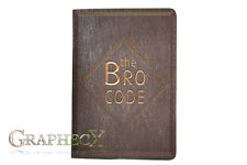 The Bro Code How I met your Mother inspired personalized journal notebook