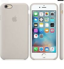 Genuine Silicone Case for Apple iPhone 6s / 6 in Stone