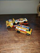 MATCHBOX PEPSI TRANSPORTER 1983, CHEVY CAR 1980 AND VAN 1979