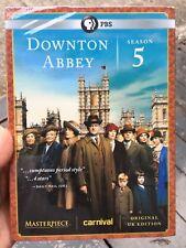 Brand New, DOWNTOWN ABBEY:Season 5 Five, 3 Disc, UK EDITION, (DVD, 2015) DVD Set