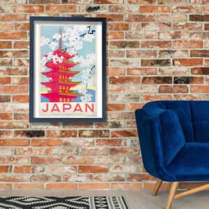 Japan Japanese Government Railways Wall Art Poster Print