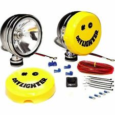 "KC HiLites 232 Daylighter DIY Offroad 6"" Round Chrome Driving Light Kit 100w NEW"