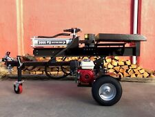 HONDA GX200 30 Ton LOG SPLITTER Hydraulic Powered WOOD SPLITTER ASSEMBLED $1829