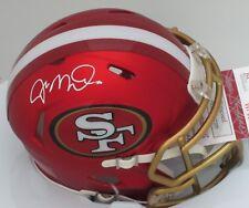 SF 49ers JOE MONTANA Signed Riddell BLAZE Mini Helmet AUTO #9721 - HOF - MVP