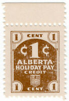 (I.B) Canada Revenue : Alberta Holiday Pay 1c