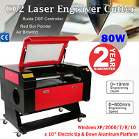 High Quality 700mm × 500mm 80W CO2 Laser Engraver and Cutter Machines