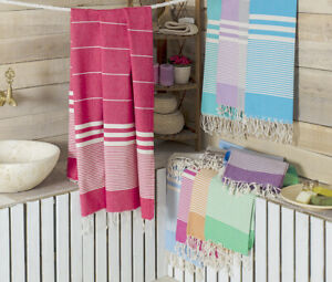 Turkish Towel Peshtemal Gym Bath Beach Throw Hammam Towel Peshtamal Pestamal
