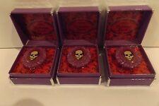 Tarina Tarantino Victorian Punk Cameo Lipgloss Ring Lot Of 3 New In Box