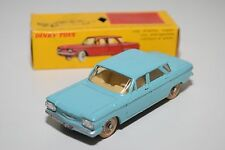 F DINKY TOYS 552 CHEVROLET CORVAIR LIGHT BLUE EXCELLENT BOXED
