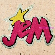 Jem & the Holograms Big Logo Patch Misfitz Kimber Jerrica Benton Synergy Pizzazz