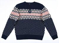 GANT W.Weihnachten Wolle Fairisle Herren Rundhals Pullover Größe XL, 2XL, 3XL