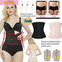 Lady Fitness Corset Waist Trainer Cincher Body Shaper Underbust Slimming Vest*UK