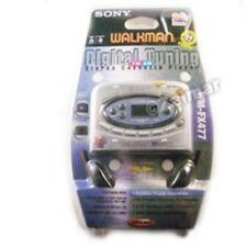 Sony Walkman Digital Tuning AM/FM Stereo Cassette Player Auto Reverse (WM-FX477)