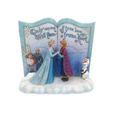 Disney Traditions Jim Shore Ornament Frozen Anna and Elsa Figurine