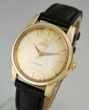 VINTAGE OMEGA SEAMASTER 501 AUTOMATIC MENS WATCH - 14K GOLD CAP – REF 2846 2848