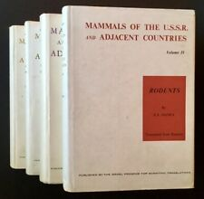S I. Ognev / Mammals of the U.S.S.R.-Rodents in 4 Vols First Edition 1966
