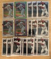 (x50 Lot) Elehuris Montero REFRACTOR (Green/Purple/etc.) 1st Bowman CHROME RC