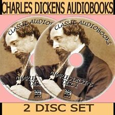 30+ CHARLES DICKENS CLASSIC ENGLISH NOVELS/SHORT STORIES MP3 AUDIOBOOKS PC-DVD