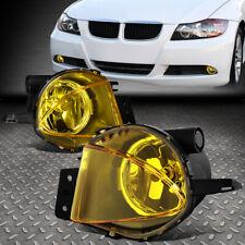 FOR 2006 BMW 325I 330I 07-08 328I AMBER LENS BUMPER FOG LIGHT LAMPS W/SWITCH
