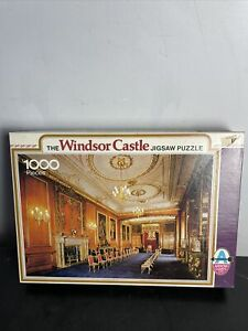 The Windsor Castle Jigsaw puzzle 1000 pieces Garter Throne Room photo Royals