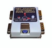 Neu Commodore 64 C64 Joystick Freude Umschalter Schaltung Plus Ps/2 Maus Teil #