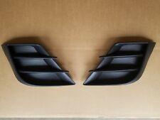 2010-2011 MAZDA3 Front Bumper LH & RH Fog Light Lamp Grille Insert Bezel 2PC SET