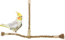02061 Small T-Perch Swing Bird Toy Cage Parrot Toys Cages cockatiel parakeet