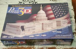 NEW Puzz 3D U.S. Capitol 718 Piece 3D Jigsaw Puzzle
